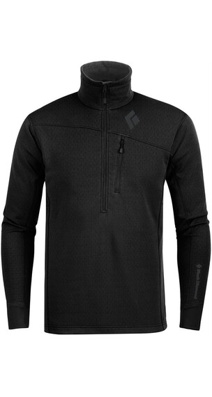 Black Diamond M's CoEfficient Quarter Zip Black
